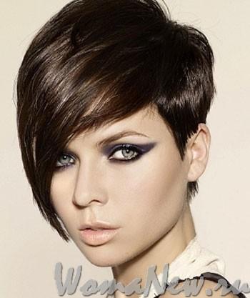 причёска брюнетка