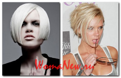 каре на светлые волосы 2012 год