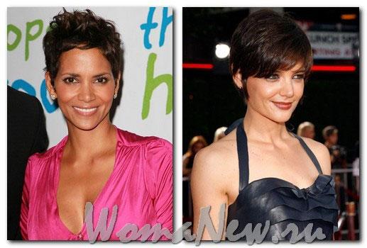 женские причёски короткие