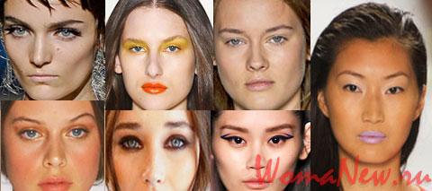 Основные тенденции макияжа 2012 года.