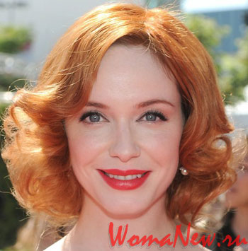 рыжая причёска 2012 короткие волосы