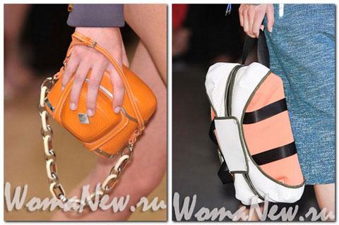 сумочки оранжевые