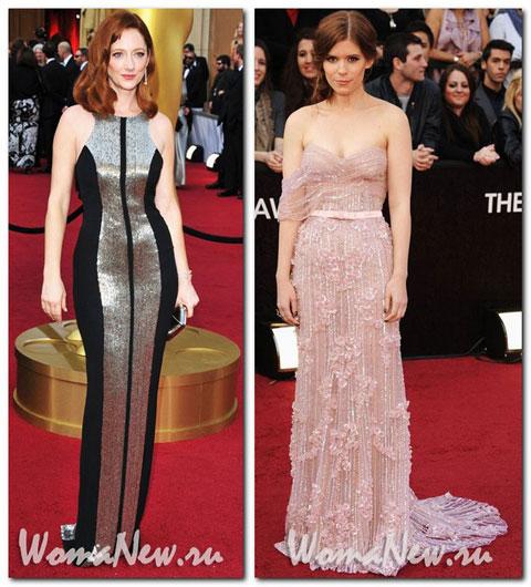 платье джуди грид Оскар 2012