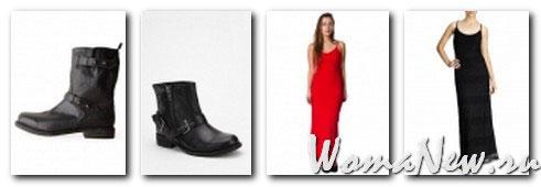 платье макси и ботинки военные