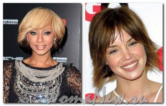 короткие причёски женские 2012