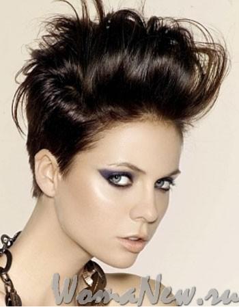 причёска женская  светлорусые