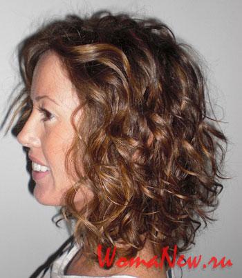 модные причёски 2012 волнистые