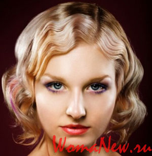 Причёски в стиле 1920-х  актуальные в 2012 году (Фото).
