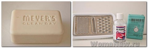 Как сделать жидкое мыло в домашних условиях.