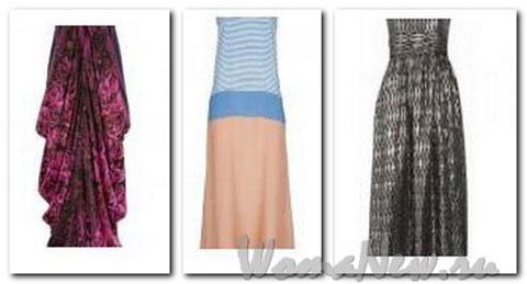 летние женские платья
