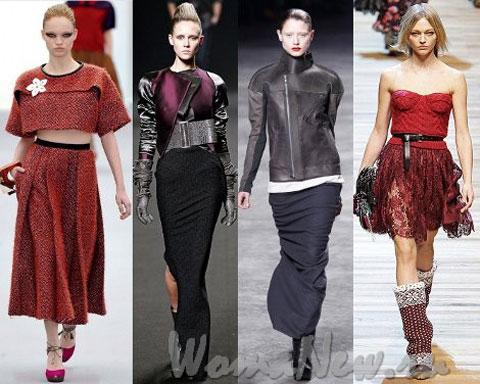 женские юбки 2012