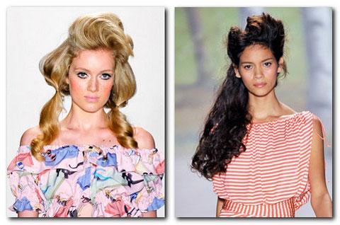 модные ретро причёски