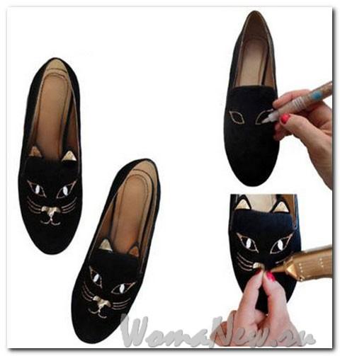 сделать туфли