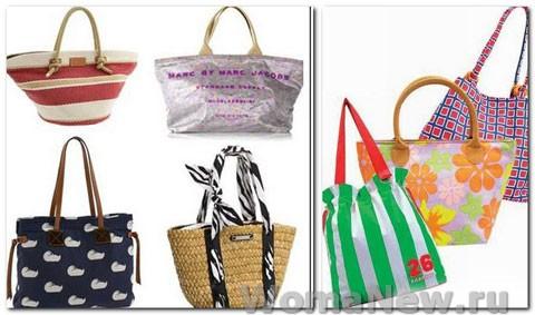сумки в форме пакета