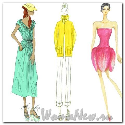 Типы женских фигур и выбор одежды для них.