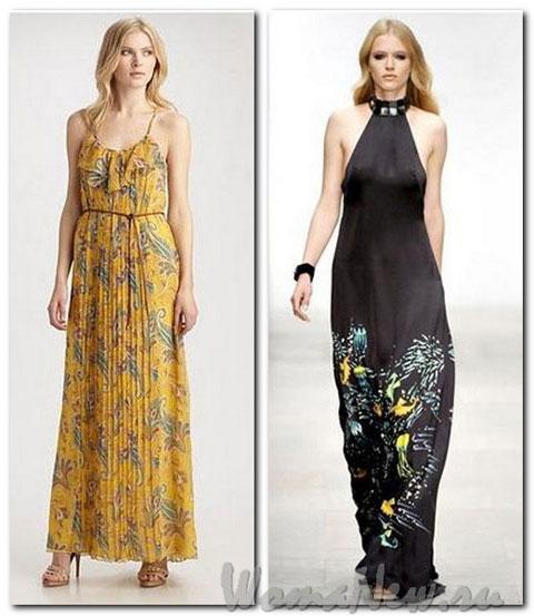 макси платья 2012