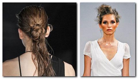 узлы причёски