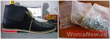 переделки обувь