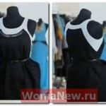 Как сделать оригинальное платье из двух маек.