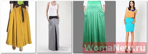 юбки с карманами выкройки