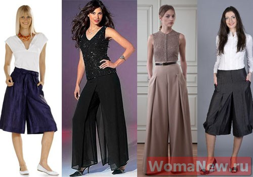 Юбка брюки выкройка | WomaNew.ru - уроки кройки и шитья!