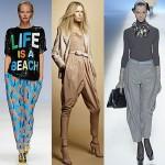 Ультра-модные брюки бананы, выкройка и видео.