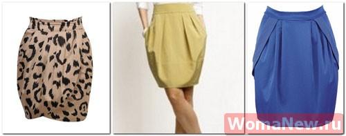 выкройка юбки тюльпан