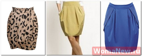Выкройка юбки тюльпан из бурды