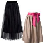 Выкройка красивой юбки на резинке + видео.