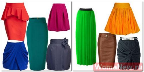Юбки женские шить