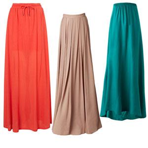 Выкройки бурда длинные юбки