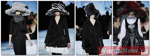 модные шляпы из меха