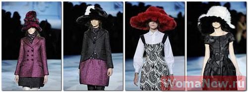 стильные шляпы меховые