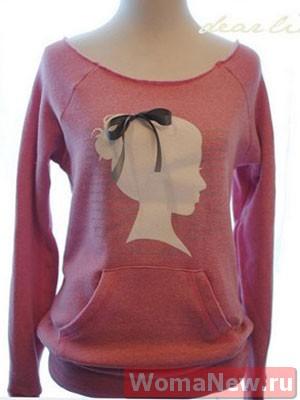переделка женского свитера