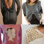 переделки свитера