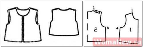 Как сделать выкройку меховой жилетки своими руками - tosamoe55