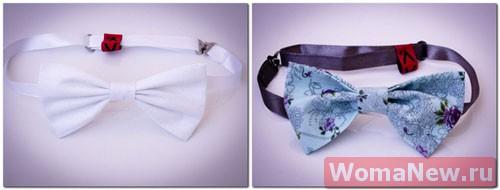 красивый галстук бабочка