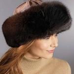 шапка меховая женская