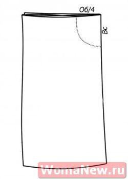шаровары простая выкройка