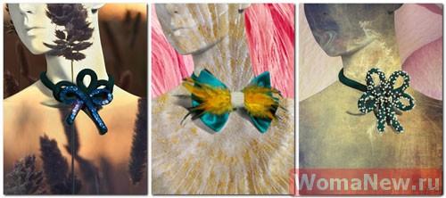 выкройка галстук бабочка1