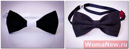выкройка галстук бабочка2