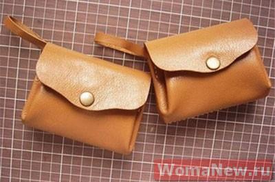 выкройка кожаной сумки1