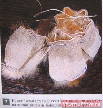 как сделать из меха цветок