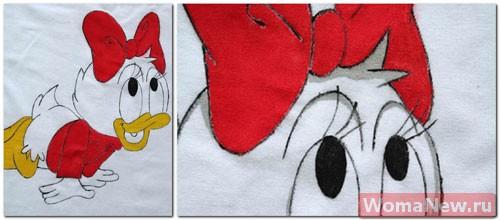 как нарисовать рисунок на футболку