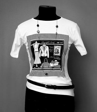 Как сделать рисунок на футболке, МК, видео.