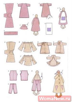 как сшить одежду для сплюшки