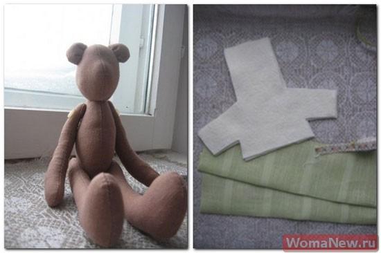 выкройка свитера для мишки