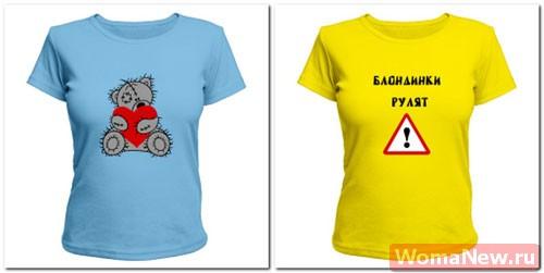 как сделать принт на футболке