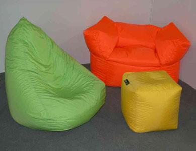 Как сделать кресло мешок, 2 выкройки и видео.