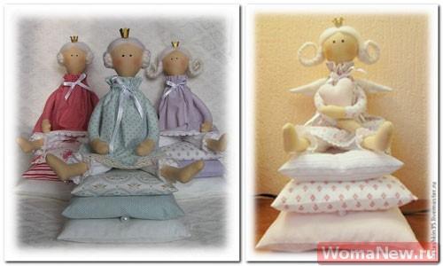 Кукла тильды принцесса на горошине выкройка фото 953